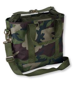 LL BEAN:  Hunter's Waterproof Tote Bag, Roll-Top Closure
