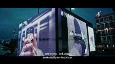 Magic Stage led display outdoor project for Adidas NMD Cube