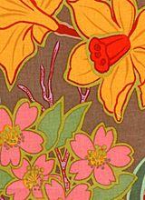 Daffodils and Dogwood Brown