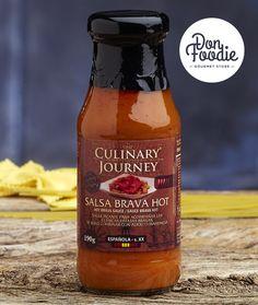 Salsa Brava Hot Culinary Journey #productos #calidad #comida #food #gourmet #healthy #salsas  #sabor #flavour #especias #alimentacion #foodies