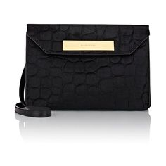 Balenciaga Cable Flap Clutch (6,420 PEN) ❤ liked on Polyvore featuring bags, handbags, clutches, colorless, genuine leather purse, accessories handbags, travel handbags, clear envelope clutch and clear handbags
