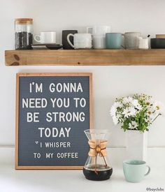 Design your everyday with coffee mugs you'll love to add to your morning routine or at work. Find unique designs from independent artists worldwide. Coffee Love, Best Coffee, Coffee Shop, Coffee Coffee, Coffee Drinks, Quotes To Live By, Me Quotes, Funny Quotes, Coffee Humor