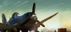 PLANES Concept Art - The Art of Ryan Carlson