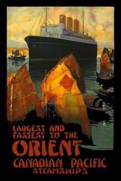 Maritime poster @ Emporium Hanoi www.emporiumhanoi.com #poster #travel #Asia #Hanoi #Vietnam #art #retro #vintage