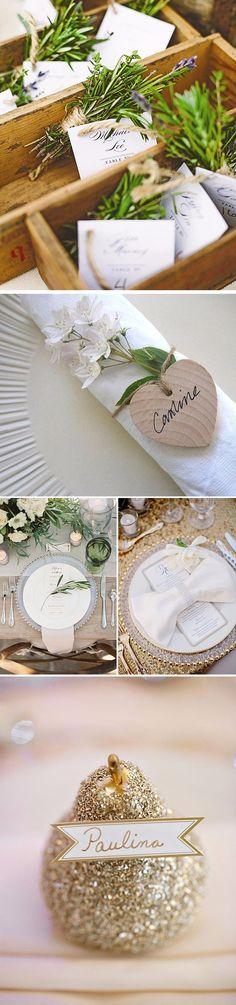 Ideias para decorar os pratos dos seus convidados