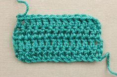 Learn to Double Crochet