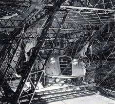 The Hindenburg, on a flight to America - One of the passengers took his Opel car with him by kitchener.lord, via Flickr