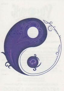 heart yin yang tattoo - Google Search                                                                                                                                                      More