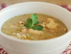 Slow Cooker White Chicken Chili | AllFreeSlowCookerRecipes.com