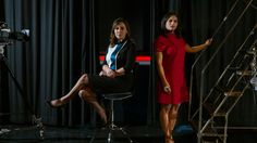 """Hallie Jackson and Kristen Welker, NBC News White House correspondents. Welker: """"I do think we all got into this business for this moment, to feel like we are playing a critical role in our democracy. There's so much civic engagement, so many things at stake. We have a real responsibility to live up to every day."""" Jackson: """"I endorse 100 percent what she said. But put my name next to it."""""""