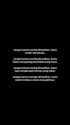 Jodoh Quotes, Sabar Quotes, Heart Quotes, Me Quotes, Qoutes, Cinta Quotes, Simple Quotes, Self Reminder, Quotes Indonesia