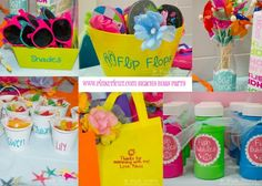 Beachy Birthday Party | Pink Cricut