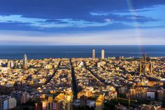 The City of Barcelona, Spain