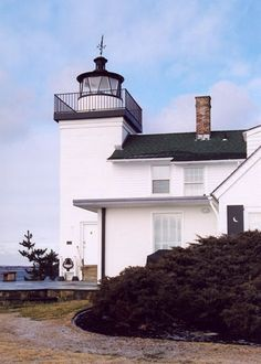 Nayatt Point Lighthouse is a historic lighthouse in Barrington, Rhode Island. The current light was built of brick in 1856 and contains an 1828 keeper's house. The lighthouse was added to the National Register of Historic Places in 1988