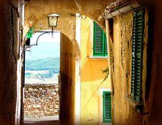 Lovely Montepulciano, Tuscany