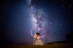星空の下で撮るウエディングフォトがロマンチックで素敵すぎ*   marry[マリー]