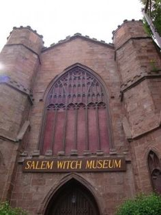 Salem Witch Museum, Salem, MA. I really want to go here