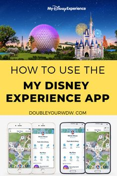 Planning My Disney Experience App How to use the Walt Disney World My Disney Experience app to get the most out of your disney world trip. Learn how to get checked in to your resort, maps of the disney world parks, restaurant reservations, fastpass and Disney World Resorts, Walt Disney World, Viaje A Disney World, Disney World Tipps, Disney World Vacation Planning, Disney Planning, Disney World Tips And Tricks, Disney Vacations, Disney Trips