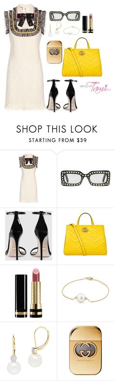 """I'm Gucci"" by talkingwithtami ❤ liked on Polyvore featuring Gucci, David Yurman and Lord & Taylor"