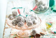 These healthy and delicious energy balls are great to have stored in the fridge for a snack or even give as gifts