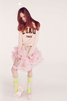 CIAO ITALIA - BARCELONA PULL OVER   Model Wears Pink Peony    #wildfoxcouture