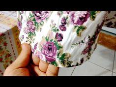 Dica de costura: Como fazer bainha de saia godê sem repuxar - YouTube