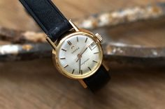 Omega Ladymatic Hand Wind Analog Vintage Lady's Wristwatch #Omega #Vintage