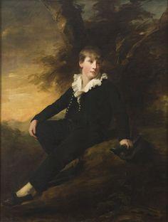 Portrait of Master Thomas Bissland 1809 ~ Henry Raeburn ~ (Scottish : 1756–1823)