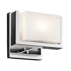 Kichler Lighting 45601CH 45601 Keo Single Light Wall Sconce