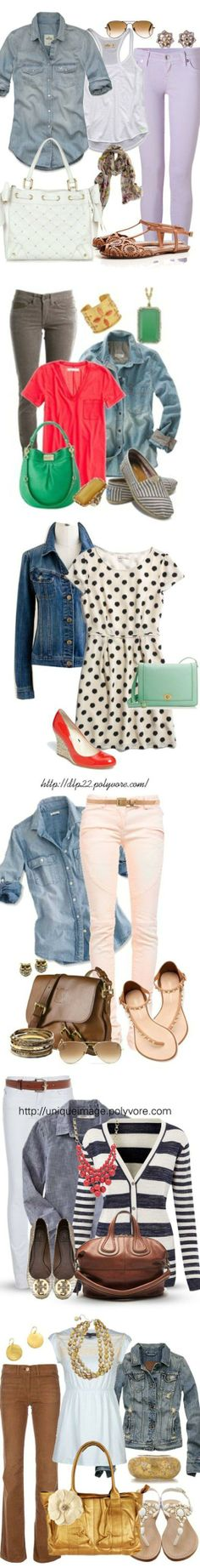 25 mix and match spring looks! #spring #fashion