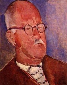 Retrato Guignard by Emeric Marcier