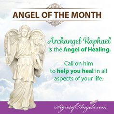 The Month of March we are inviting Archangel Raphael to come forth and help with healing all aspects of your life.   #ArchangelRaphael #AngelofTheMonth