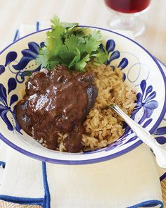 Posta Cartagenera over Titoté Coconut Rice
