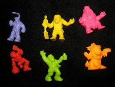 Monster in My Pocket figurines. 1990. Part of a bag full of action figures for 2.99 at Goodwill.