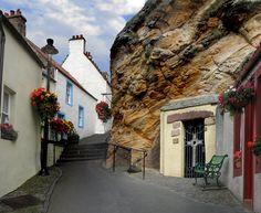 St. Fillian's Cave - Pittenweem (Fife)