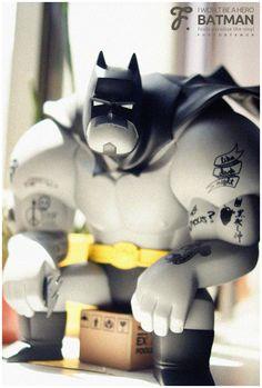 """I Won't Be a Hero"" | Batman | Artist: Fools Paradise"