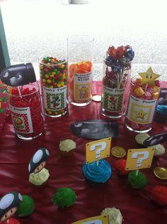 Mario candy bar