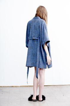 PER—TIM — Kimono in Recreation Night print