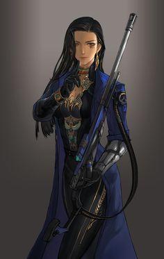 Ana Amari, Overwatch, Blizzard, Blizzard Entertainment, fandom, Overwatch art