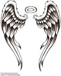 Resultado de imagen para angel wings tattoo