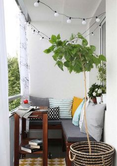 Styling a small outdoor space