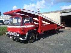 Bedford truck - Car carrier (1980)