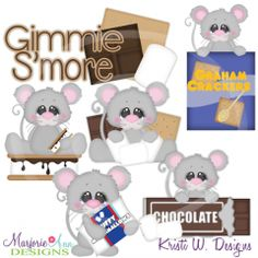 I Love Smores SVG Cutting Files Includes Clipart