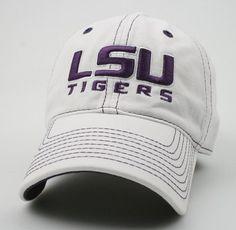 reputable site 3039a f605f LSU Tigers Legacy Adjustable Hat
