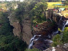 Surprising South Africa, Part ZwaZulu Natal Oribi Gorge Swing Places Around The World, Around The Worlds, Visit South Africa, Kwazulu Natal, African Countries, Gypsy Soul, Extreme Sports, Beautiful Scenery, Caves