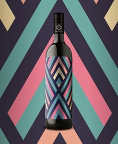 #Wine bottle-3 by EN GARDE Interdisciplinary, Austria & Germany #vino #packaging