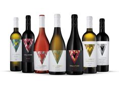 Vallegre Wines — The Dieline - Branding & Packaging Design