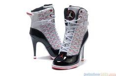 Jordan heels... weird!