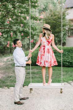 Photography: Love & Light Photographs - http://www.stylemepretty.com/portfolio/love-and-light-photographs   Read More on SMP: http://www.stylemepretty.com/2015/09/22/smp-blogger-bride-meet-dressed-by-jess-engagement/