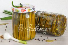 Маринованные стрелки чеснока на зиму - рецепт с фото